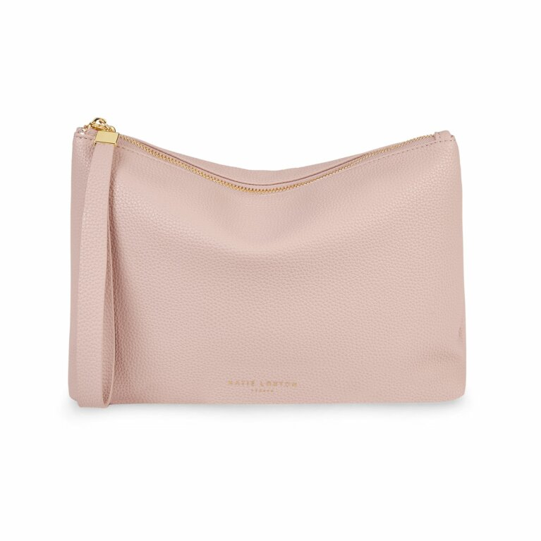 Isla Clutch | Pale Pink