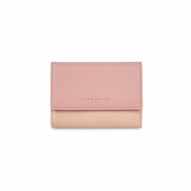 Casey Wallet | Light Pink and Dark Pink