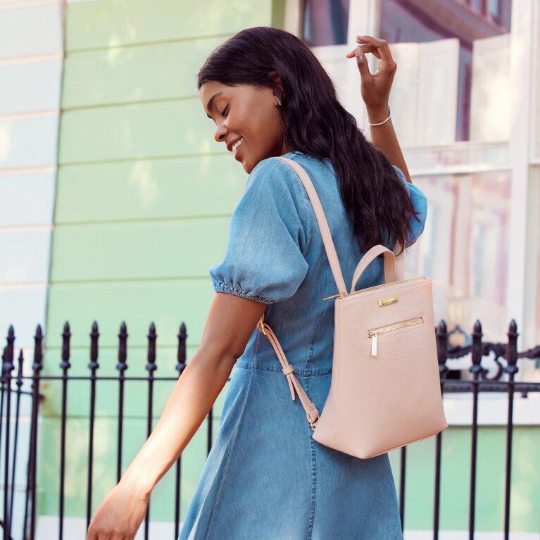 Mini Brooke Backpack | Pink