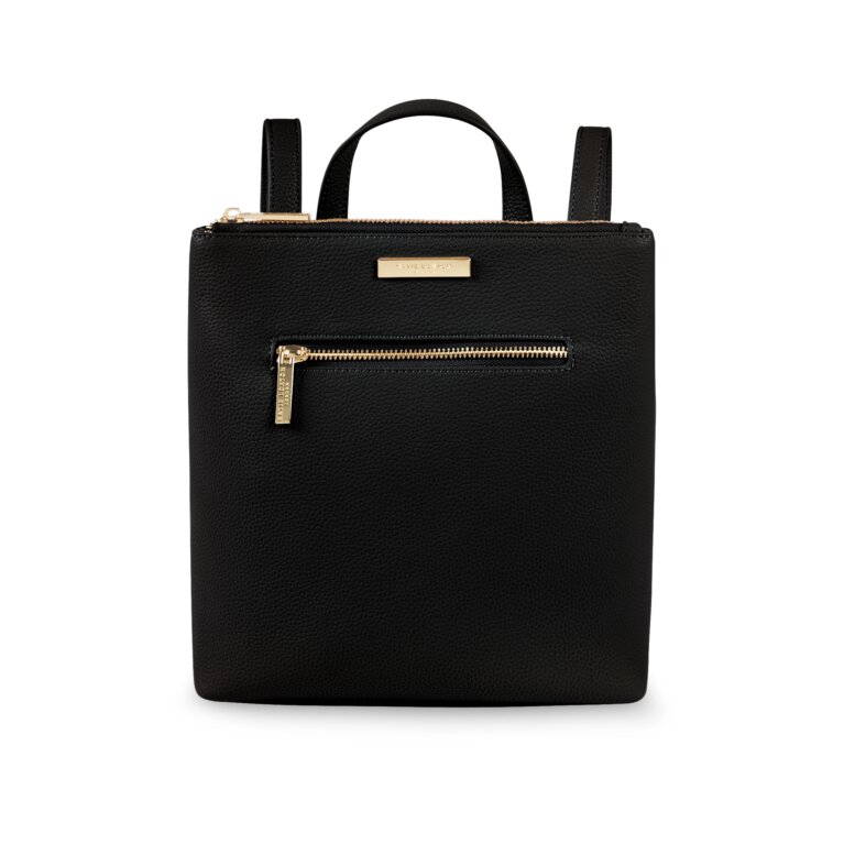 Mini Brooke Backpack In Black