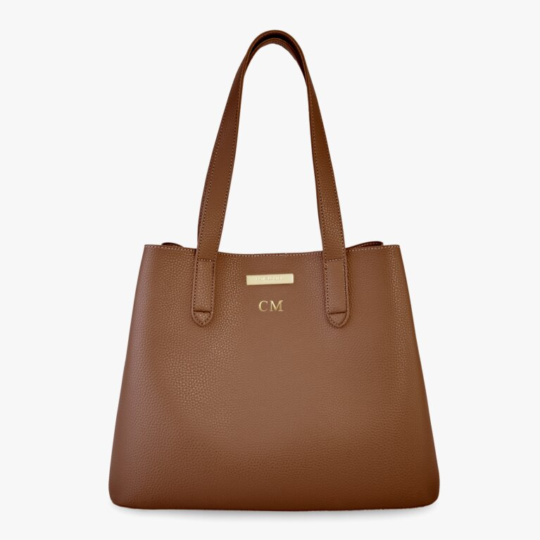 Riley Shoulder Bag | Cognac