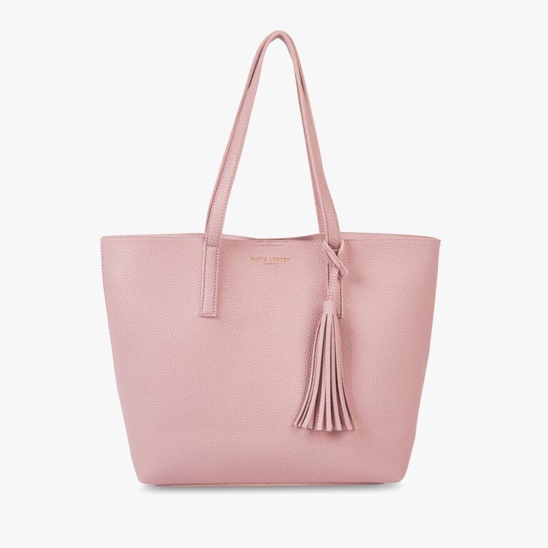 Tavi Tassel Tote Bag | Pink