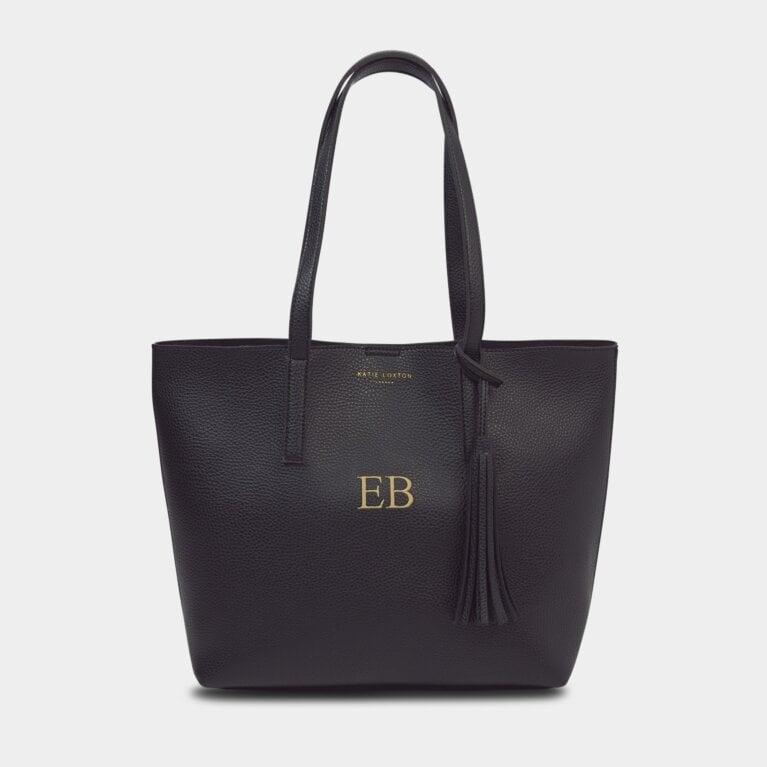 Tavi Tassel Tote Bag In Black