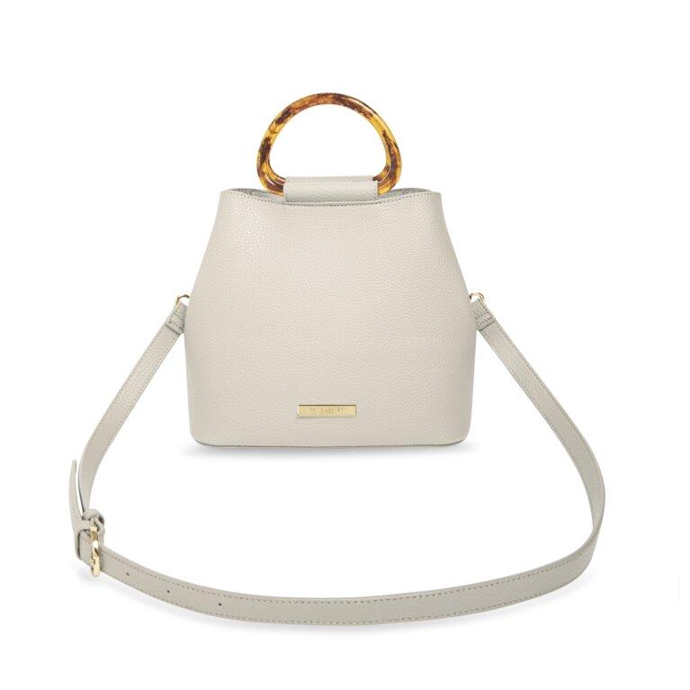 Tori Tortoiseshell Bag In Off White