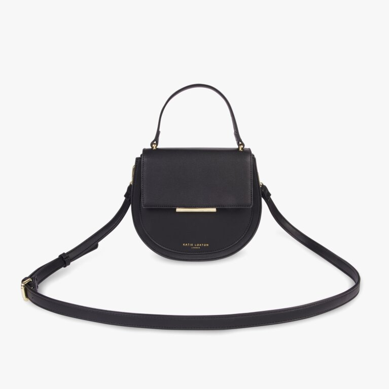 Alyce Saddle Bag In Black