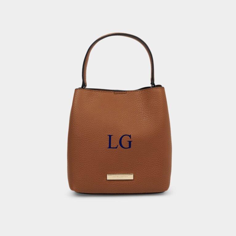 Lucie Crossbody Bag In Cognac