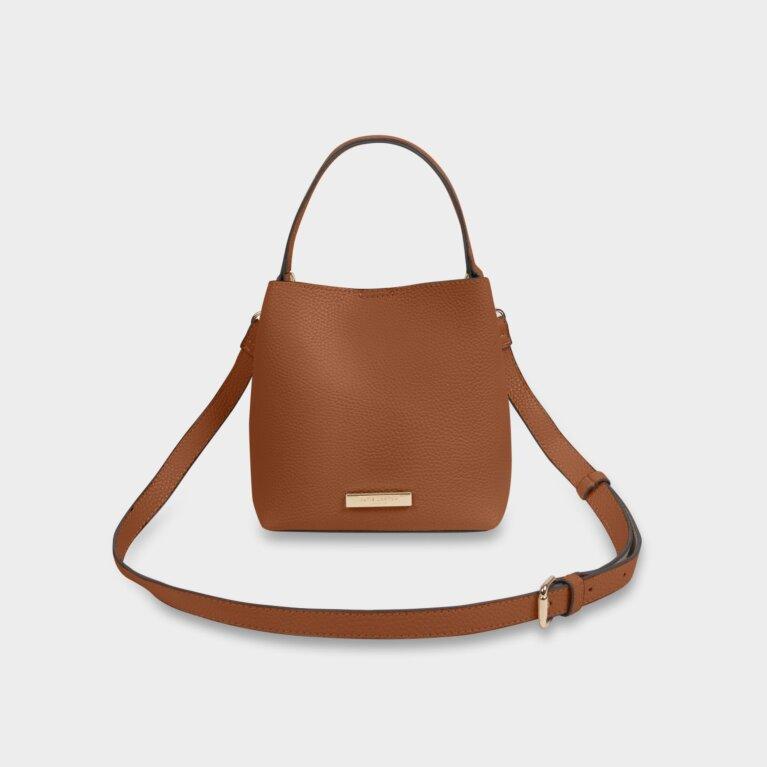 Lucie Crossbody Bag | Cognac