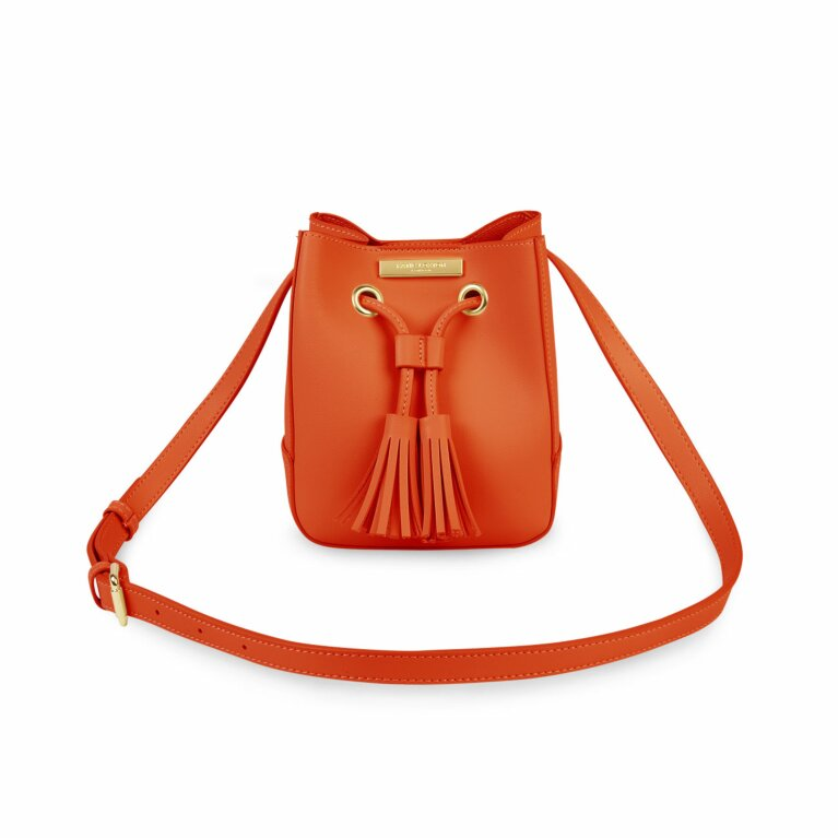 Blair Bucket Bag | Burnt Orange