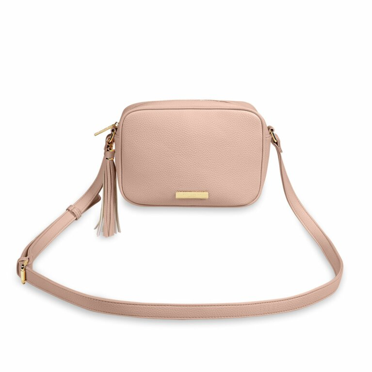 Sophia Tassel Crossbody Bag | Pale Pink