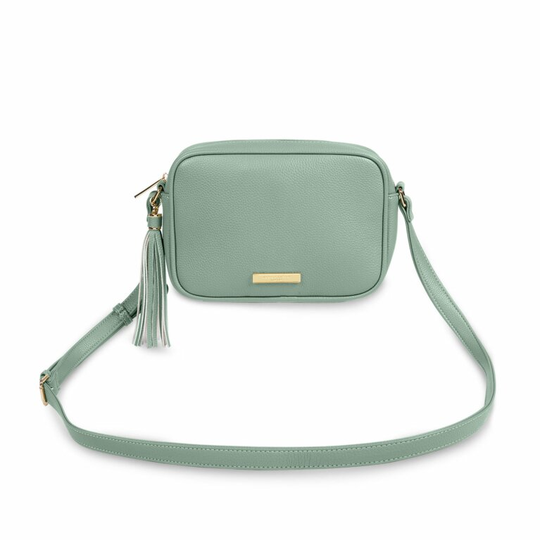 Sophia Tassel Crossbody Bag | Mint Green