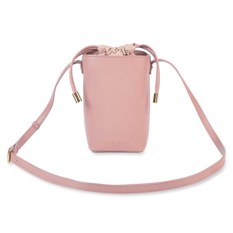 Cece Drawstring Crossbody Bag In Pink