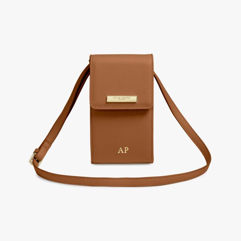 Taylor Crossbody Bag | Cognac