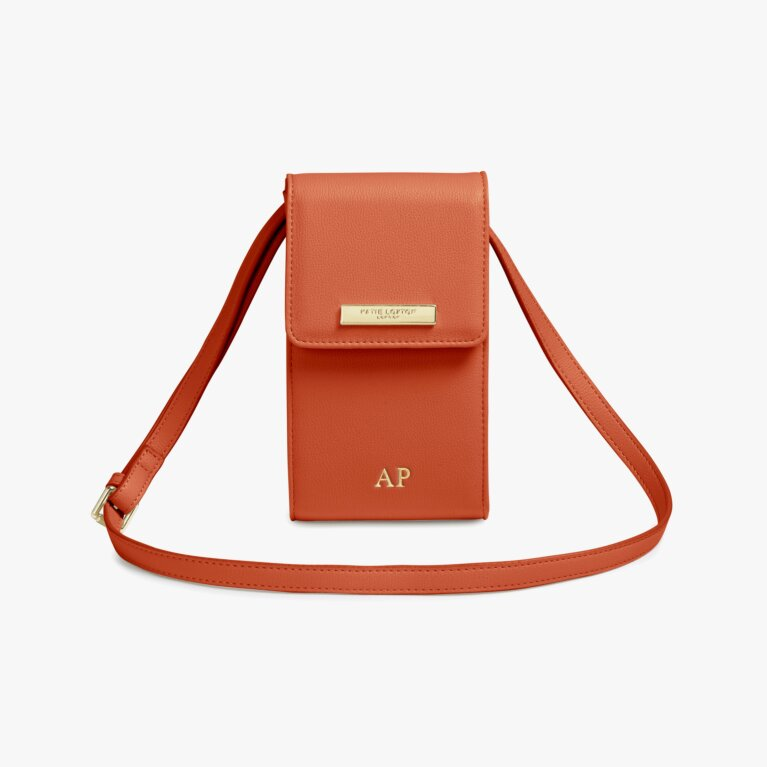 Taylor Crossbody Bag | Burnt Orange