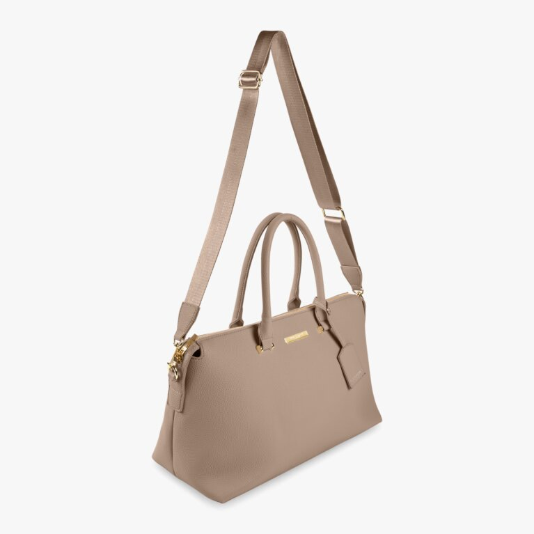 Kensington Day Bag  | Taupe