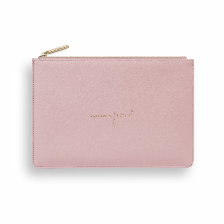 Perfect Pouch | Sustainable Style | Fabulous Friend | Dark Pink