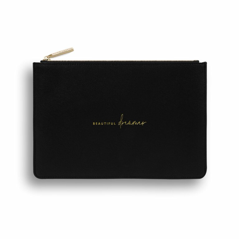 Perfect Pouch | Sustainable Style | Beautiful Dreamer | Black