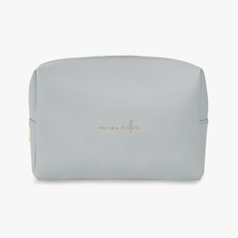 Colour Pop Wash Bag | One In A Million | Pale Grey