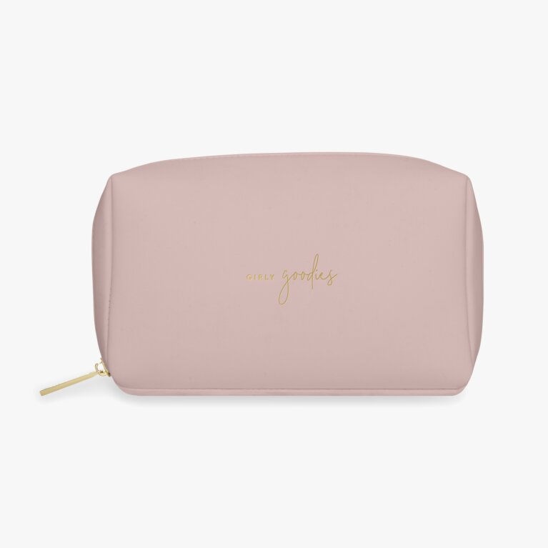 Color Pop Wash Bag | Girly Goodies | Blush Pink