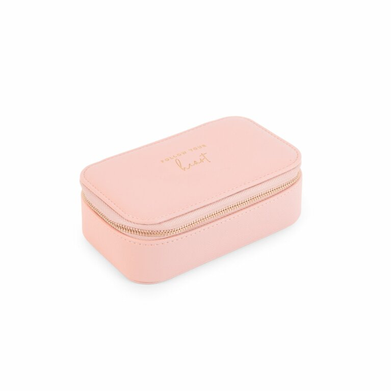 Medium Jewellery Box | Follow Your Heart | Pink
