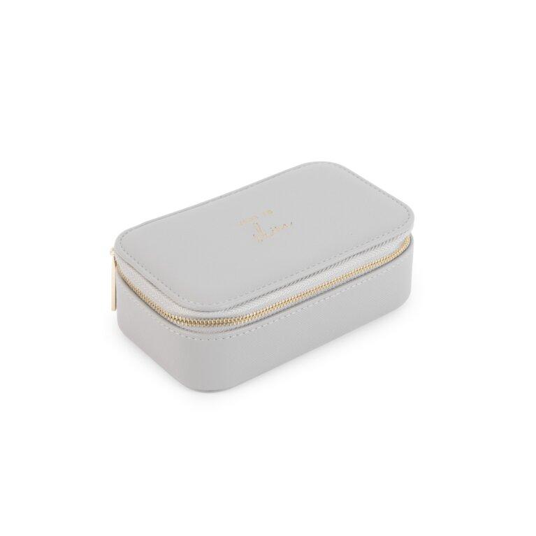 Medium Jewelry Box Time To Shine Grey