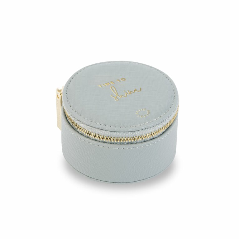 Small Circle Jewellery Box | Time to Shine | Grey