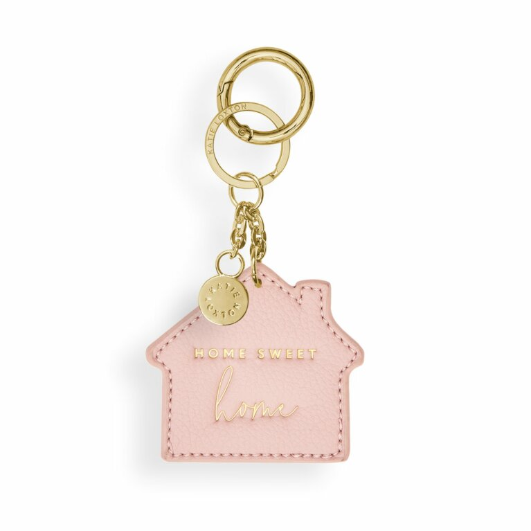 Chain Keychain | Home Sweet Home | Pink