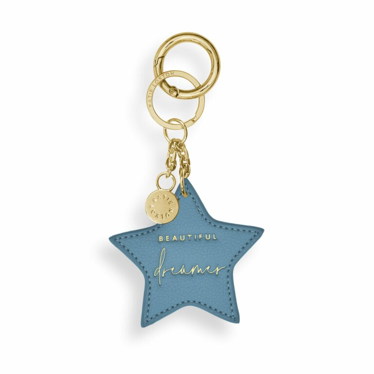 Chain Keychain | Beautiful Dreamer | Blue
