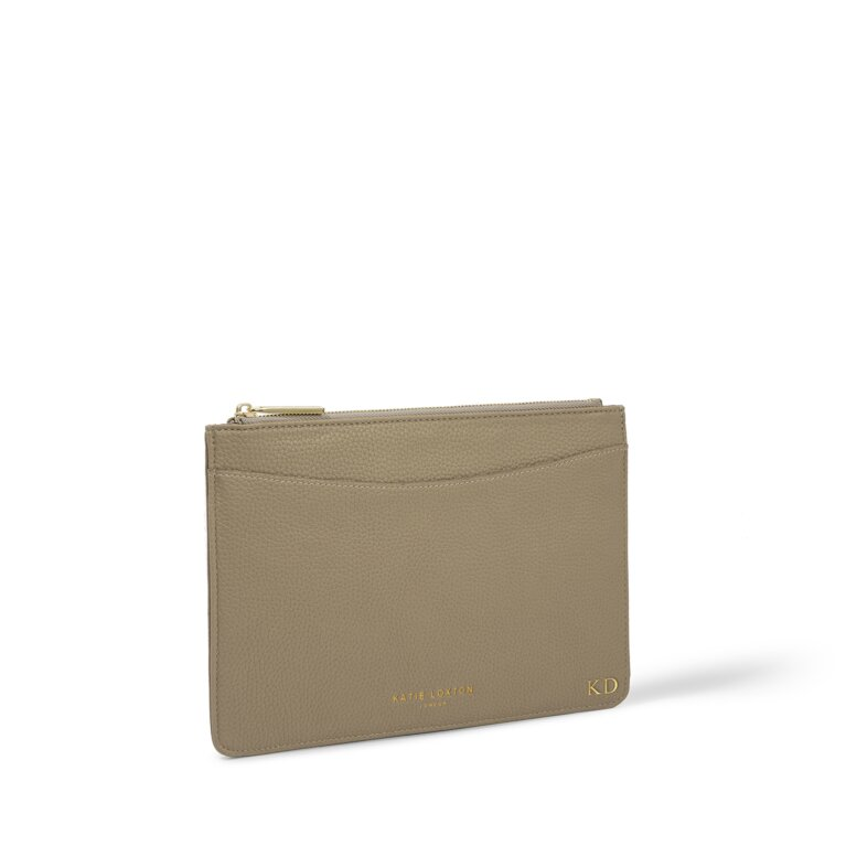 Cara Pouch in Taupe