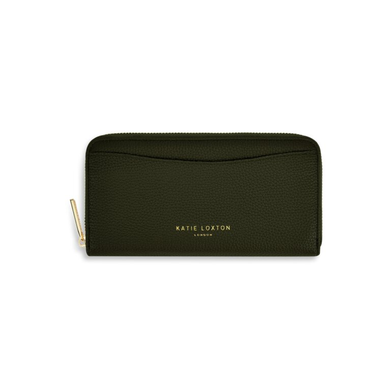 Cara Wallet in Olive