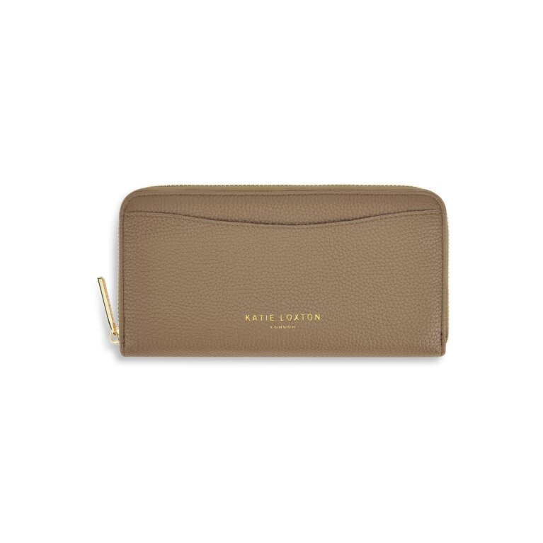 Cara Wallet in Taupe