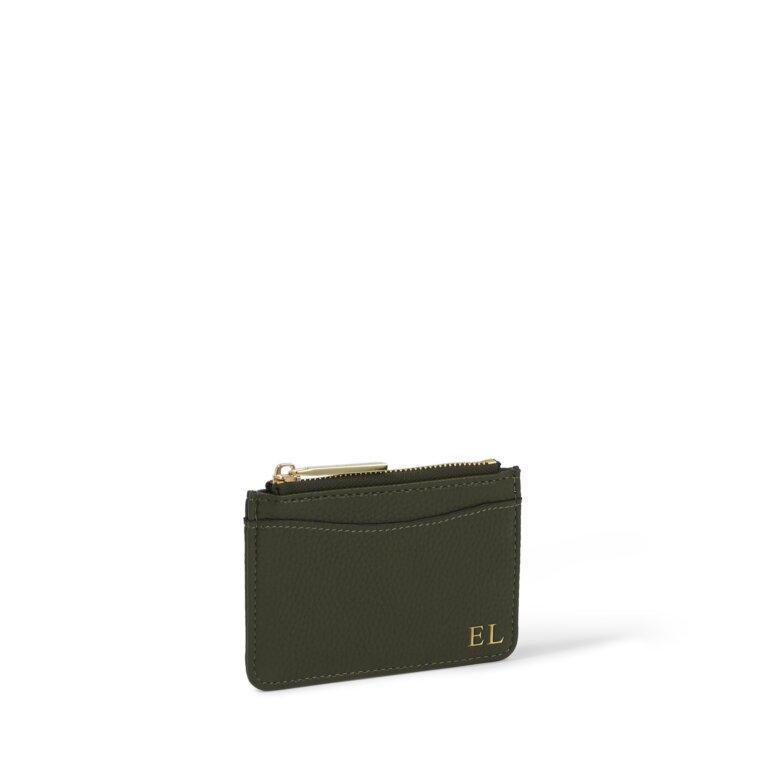 Cara Cardholder in Olive