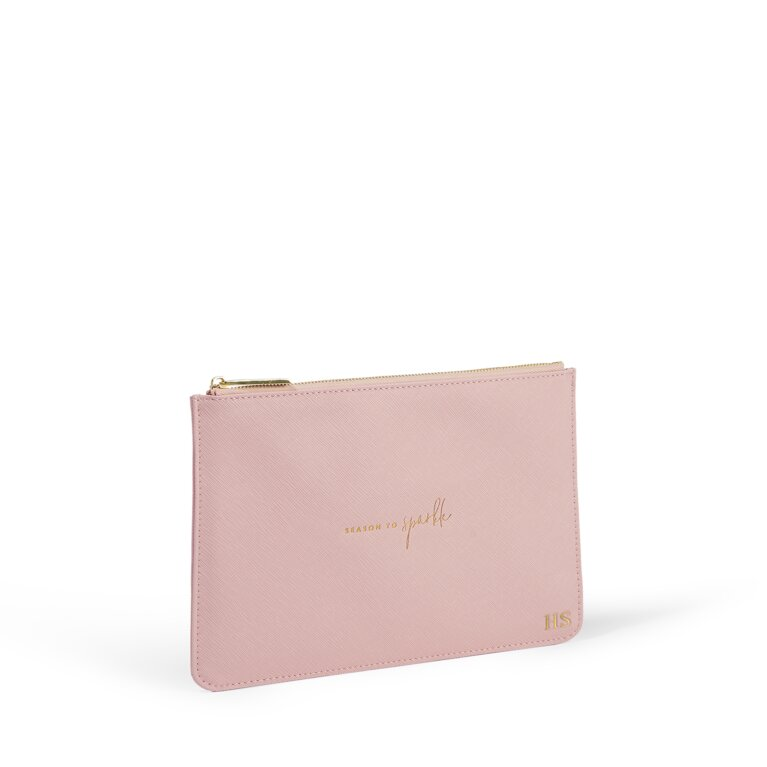 Perfect Pouch Season To Sparkle in Pale Pink