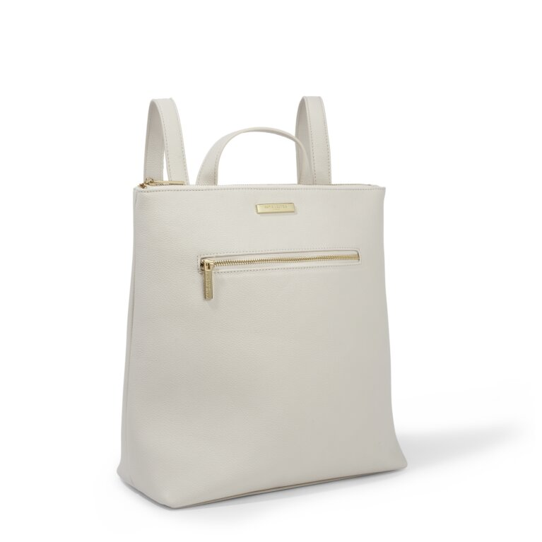 Brooke Backpack in Off White