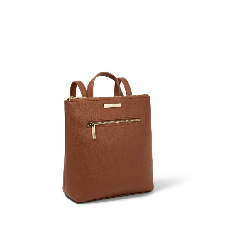 Mini Brooke Backpack in Cognac