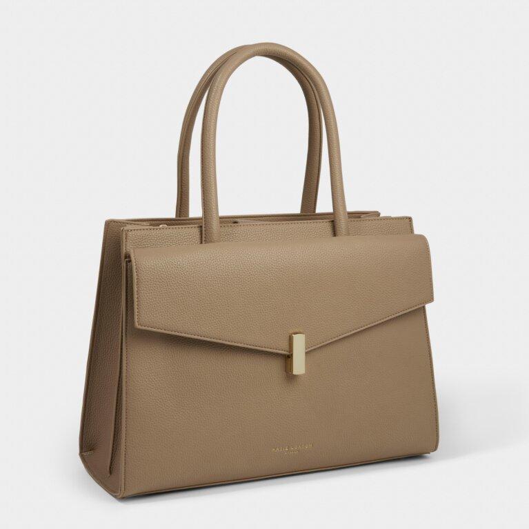 Casey Shoulder Bag in Taupe