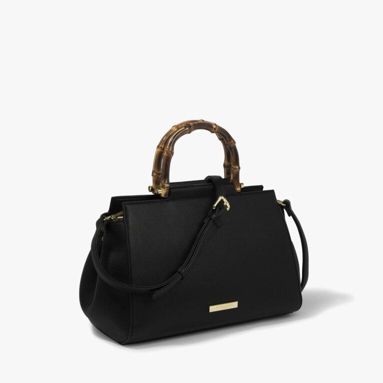 Thea Bamboo Bag in Black