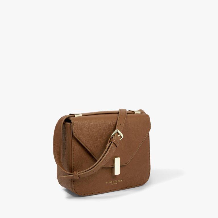Casey Crossbody Bag in Cognac