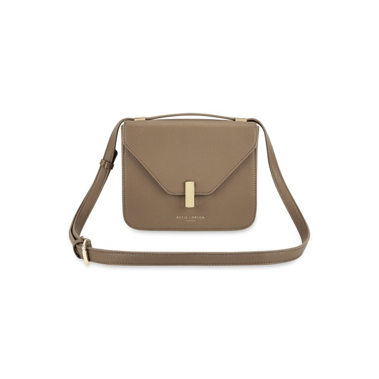 Casey Crossbody Purse in Taupe