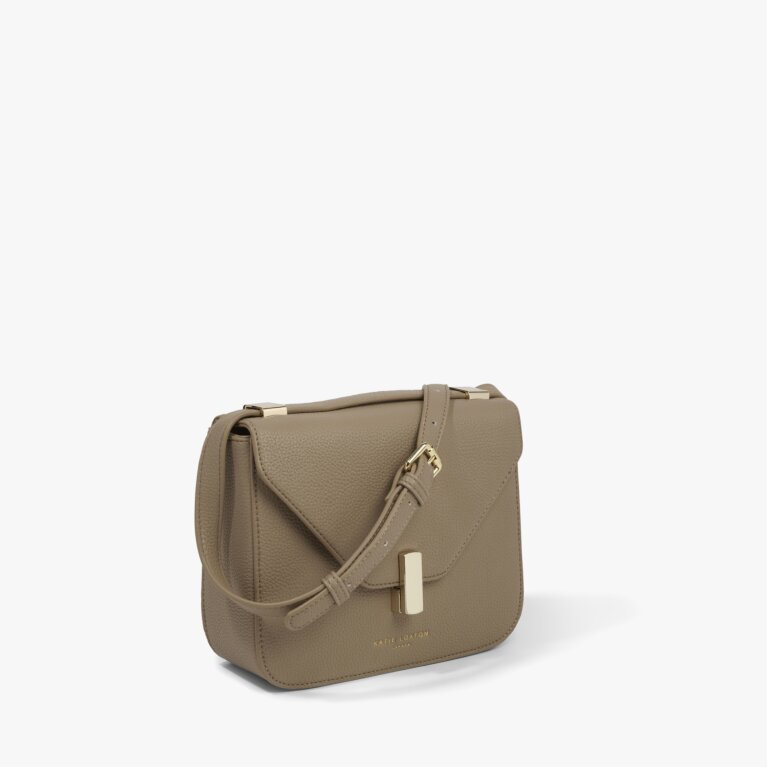Casey Crossbody Bag in Taupe