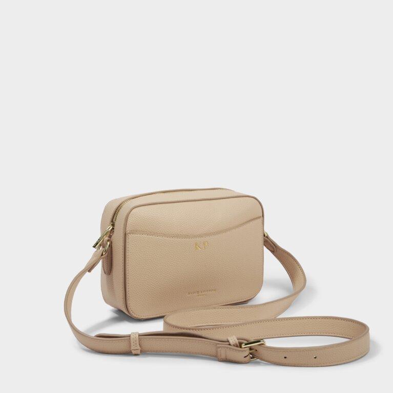 Cara Crossbody Bag in Pale Pink