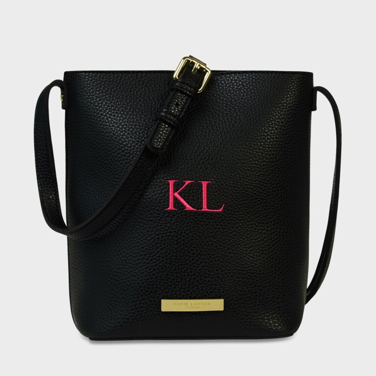 Laura Crossbody Bag in Black