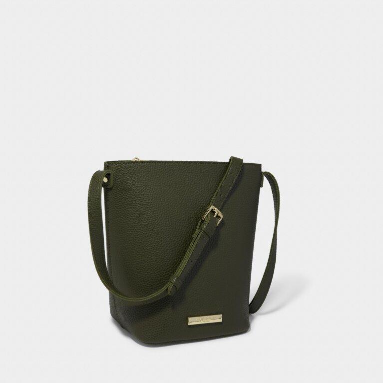 Laura Crossbody Bag in Khaki