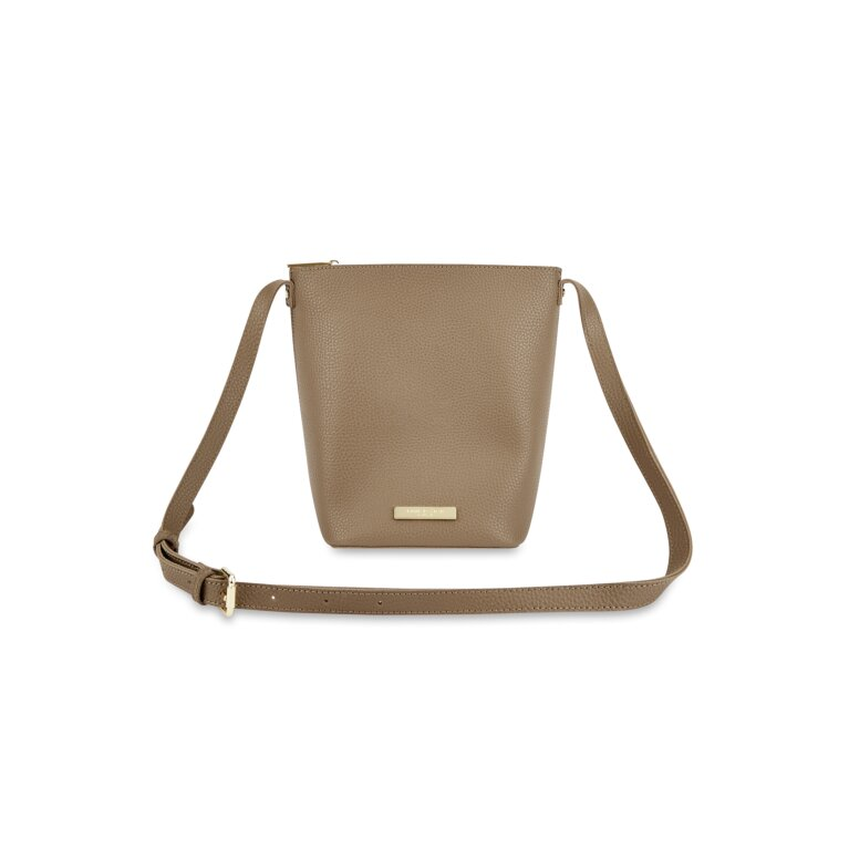 Laura Crossbody Purse in Taupe