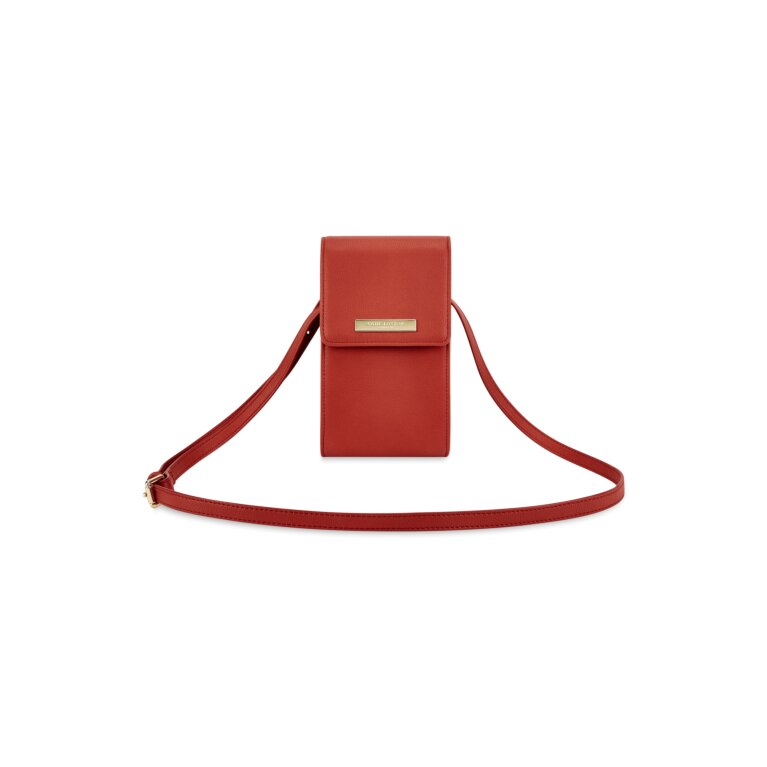Taylor Crossbody Purse in Red