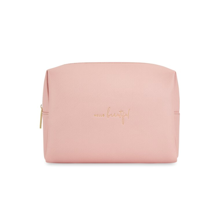Wash Bag Hello Beautiful in Pink