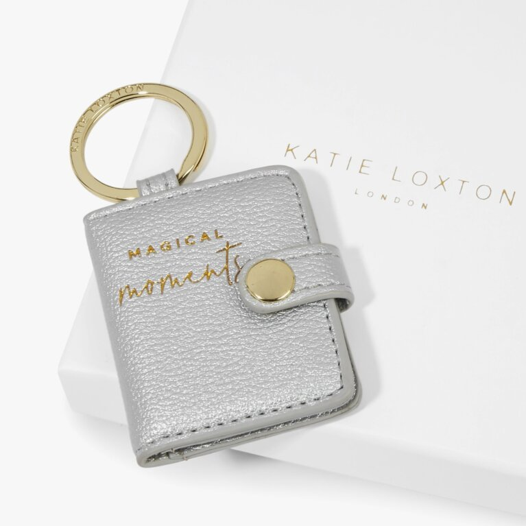 Photo Keyring Magical Moments in Silver