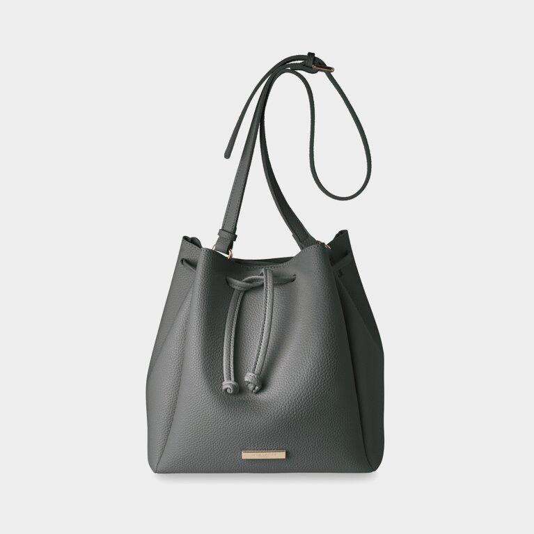 Chloe Bucket Bag | Charcoal