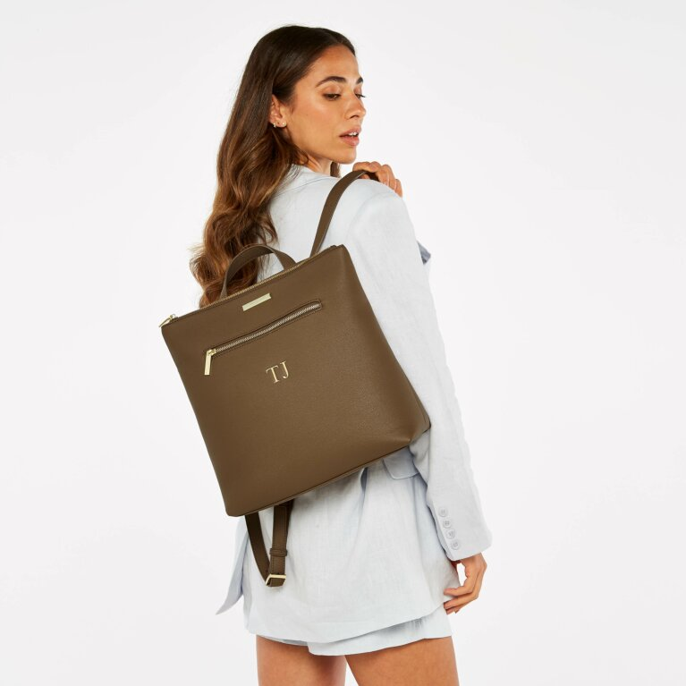 Brooke Backpack Sustainable Style in Brown