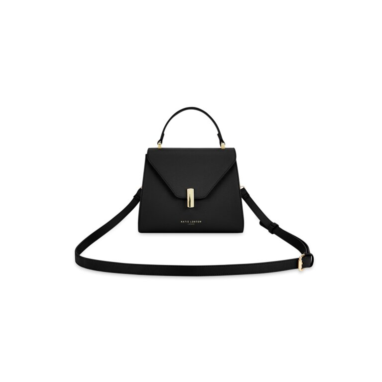 Casey Top Handle Purse Sustainable Style in Black