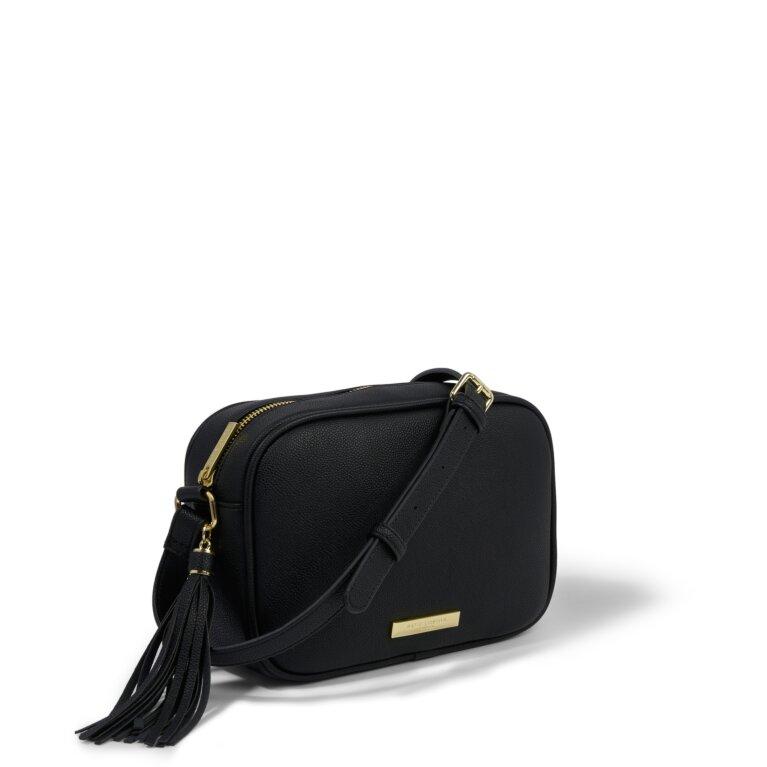 Sophia Tassel Purse Sustainable Style in Black